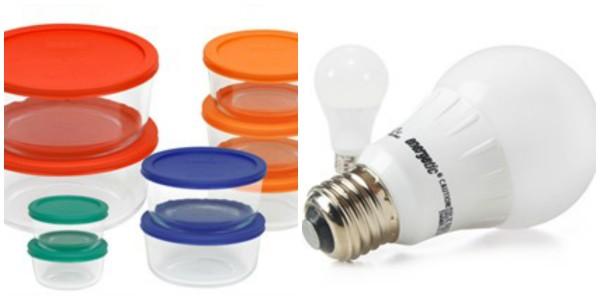 Great Home Deals Pyrex 18 Piece Set Led Light Bulbs 6