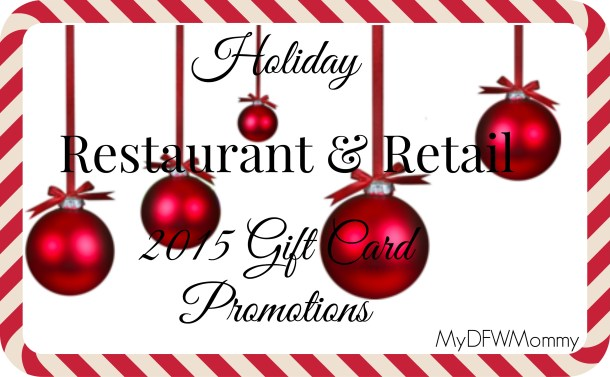 gift card promotions - Christmas Gift Card Deals