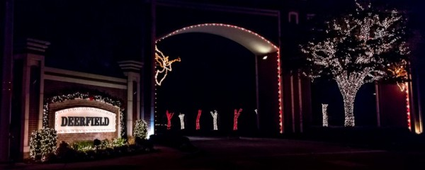 deerfield plano when deerfield was being built it was considered far too north of preston so to get more visitors to look at the homes a 5k prize was - Christmas Light Show Dallas