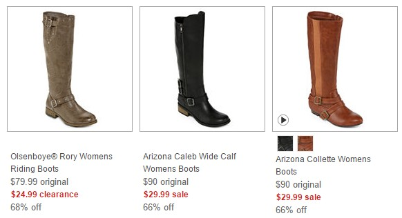 86f449e37 JCPenney~ Extra $10 Off $25 Purchase = Women's Boots Just $19.99 (Reg. $90)