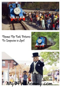Thomas the Tank Grapevine