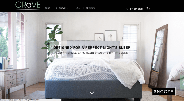 Crave Mattress Online