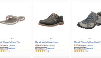 90340a1ac9c Amazon: Up to 40% Off Select Merrell Shoes (Today Only)
