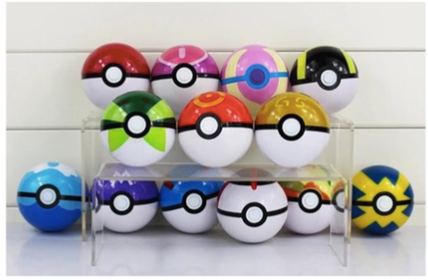 Pokémon with Pokeball inside deal