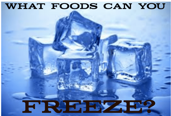 What Foods Can You Freeze?