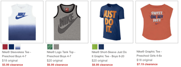 33be63081bc JCPenney ~ Nike Clearance Apparel   Shoes Starting at  5.99 - My DFW ...