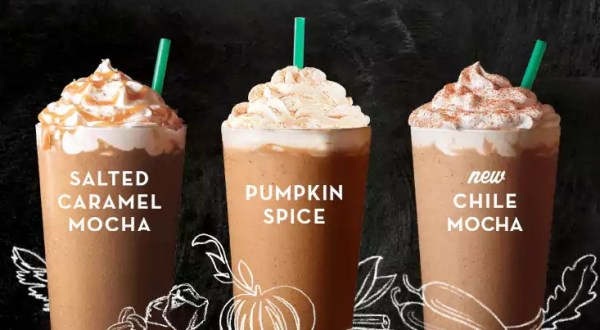 Starbucks Happy Hour From 2-5PM~ $3 Grande Fall Flavors