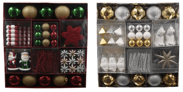 kohl s 50 piece st nicholas square christmas ornament sets only