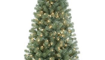 Kohls Christmas Trees.Kohl S St Nicholas Square 7 Pre Lit Artificial Christmas