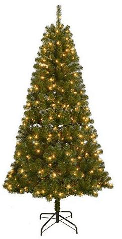 kohl s st nicholas square 7 pre lit artificial christmas tree