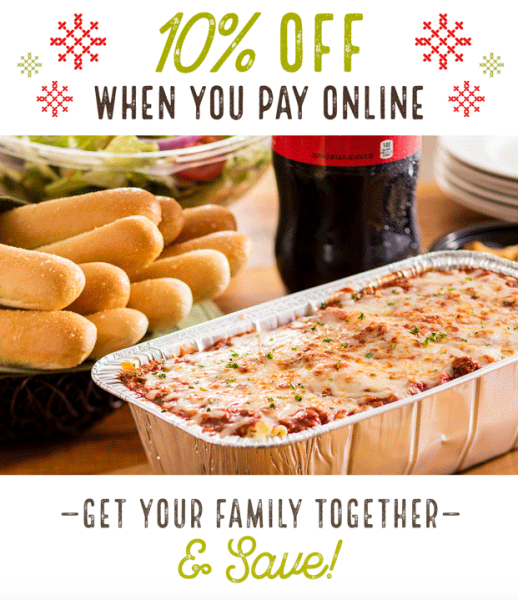 from dinner with your family to catering a holiday party olive gardens online ordering makes planning your next meal quick and convenient - Olive Garden Online Ordering
