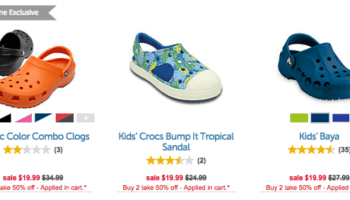 2f886b4ac 25% Off Crocs Clearance + Extra 10% Off - My DFW Mommy