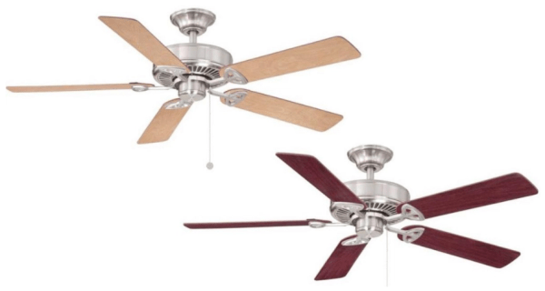Home Depot Farmington Indoor Brushed Nickel Ceiling Fan Only 34 98 Reg 50 My Dallas Mommy