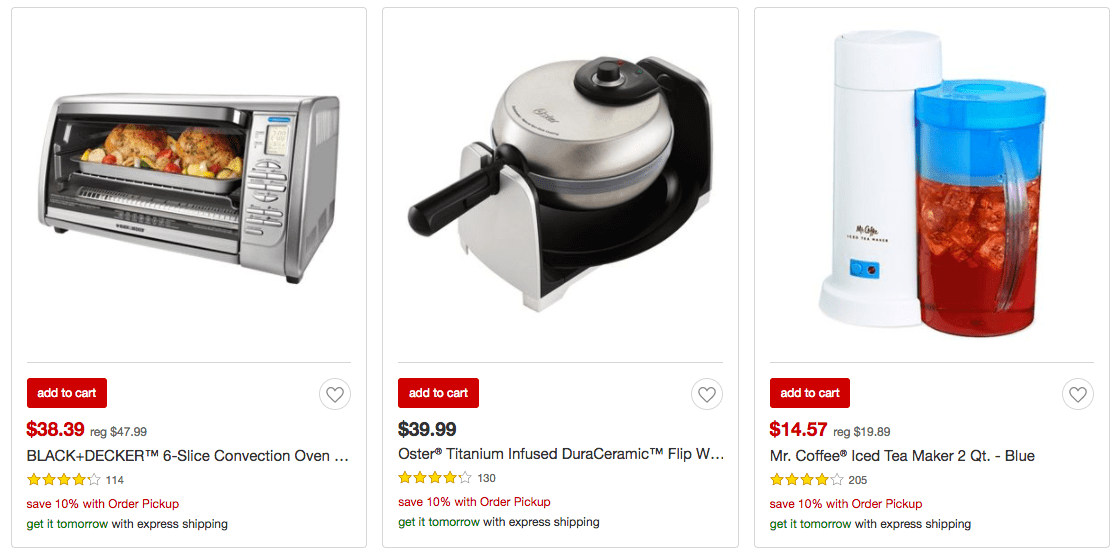 Target Is Offering An Extra 10% Off Select Kitchen Items For A Limited Time  Only With In Store Order Pickup! Plus Donu0027t Forget You Get An Extra 5% Off  When ...