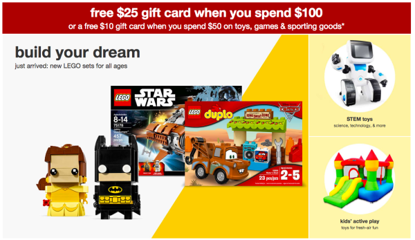 Have A Birthday Coming Up Now Through June 3rd Only Head To Target Stores Or Shop Earn Gift Card With Toy Purchases