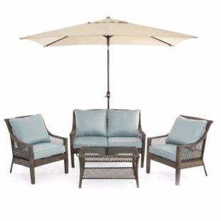 Elegant Outdoor Oasis Latigo Piece Conversation Set Only Shipped reg My Dallas Mommy
