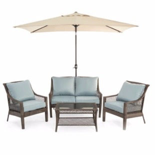Nice This Outdoor Oasis Latigo Piece Conversation Set is regularly and on sale for but you ull pay just when you use the code HOME during
