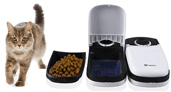 Amazon Wopet Automatic Pet Feeder Bowl Just 14 79 Reg