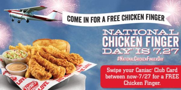 Cane's chicken coupons