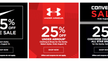 f04735ee9 Kohl's Tax Free Weekend~ Promo Codes + Under Armour, Nike & Converse Sales