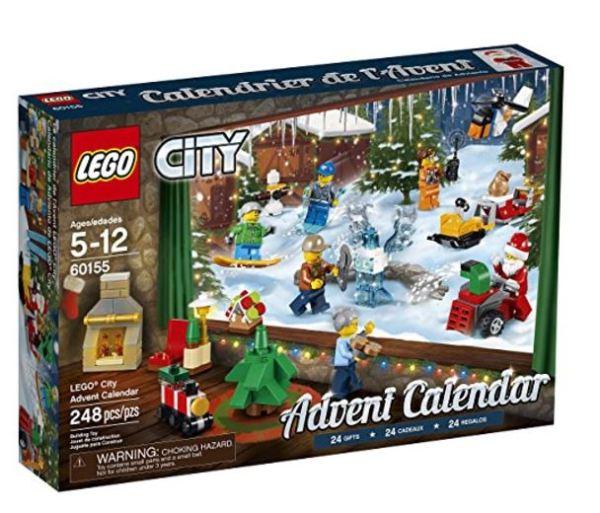 Calendrier Lego City.Lego City Advent Calendar Building Kit 248 Piece 29 99