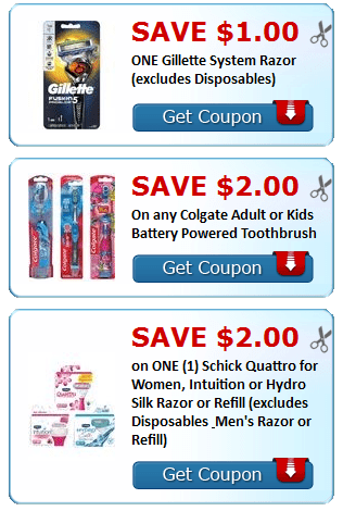 image relating to Gillette Printable Coupon known as Fresh new Printable Discount coupons~ Luvs, Gillette, Kelloggs + Even further - My