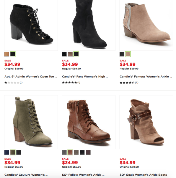 856005fb75e Kohl's~ Up To 70% Off Women's Boots - My DFW Mommy