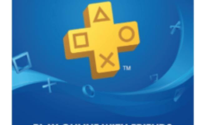 Amazon Playstation Plus 12 Month Membership Egift Card