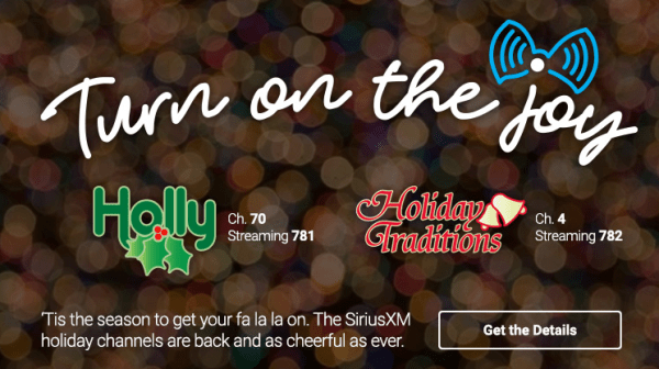 Holiday Music Channels On Siriusxm Have Already Launched 2018