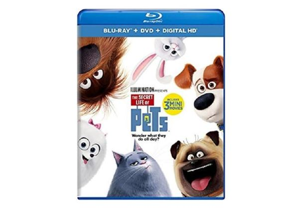 the secret life of pets dvd digital hd with ultravio blu ray my dallas mommy. Black Bedroom Furniture Sets. Home Design Ideas