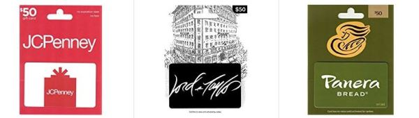 Check Out The Gift Card Lightning Deals Available Today December 28th