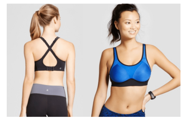 0b04c53eee2 Hurry over to Target and pick up Women s Power Shape MAX High Support  Convertible Sports Bra – C9 Champion in blue or gray for just  11.48!