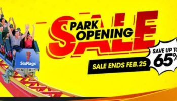 Up to 65% Off Six Flags Season Passes + FREE Parking - My