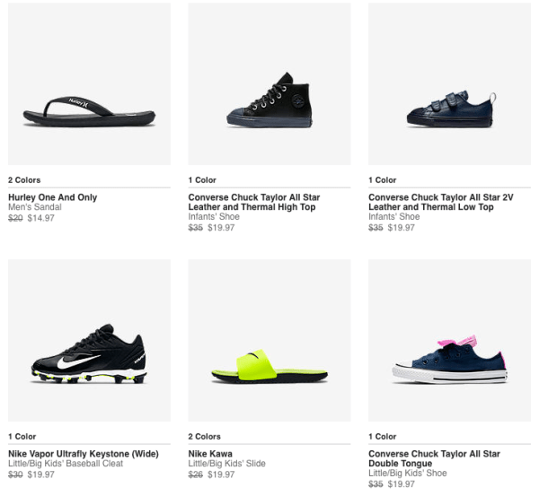panel Araña Popular  Last Day For Extra 25% Off Nike Clearance Items - My DFW Mommy