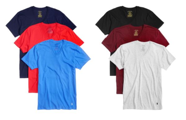 Polo Ralph Lauren Men S T Shirt 3 Packs Only 23 70 Just 7 90 Each