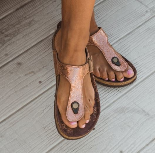 14bb9214817 The links in the post below may be affiliate links. Read the Full  Disclosures! Check out these cute MUK LUKS Women s Thong Sandals ...