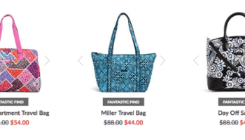 Extra 30% Off Vera Bradley Outlet + FREE Shipping - My DFW Mommy 1980c8d1ee8c8