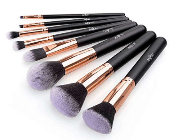 Anjou 8-Piece Makeup Brush Set Just $6.99