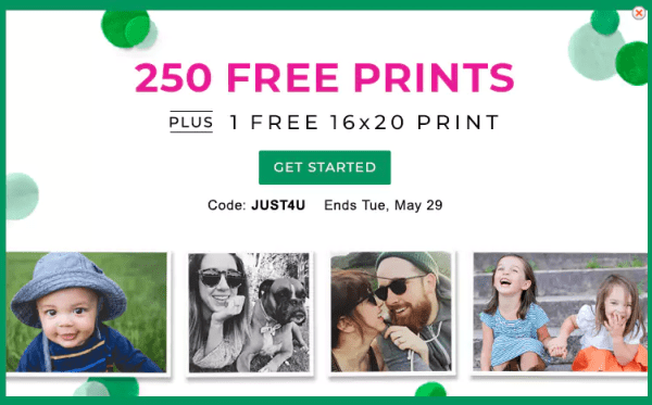 free 16 20 print 250 4 6 prints at shutterfly my dallas mommy
