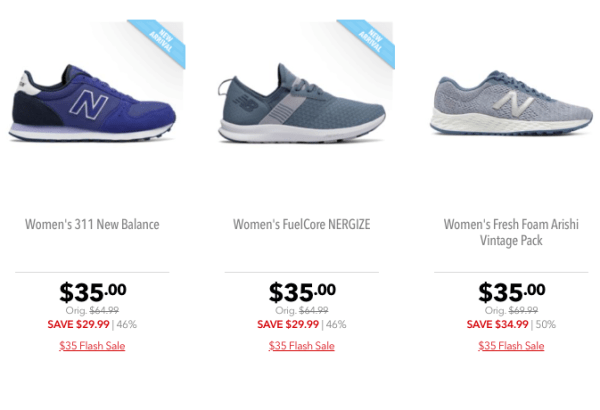 a9f98f07d16d7 Through July 26th, go over to Joe's New Balance Outlet and shop their Flash  Sale where select styles are on sale for only $35 plus free shipping!