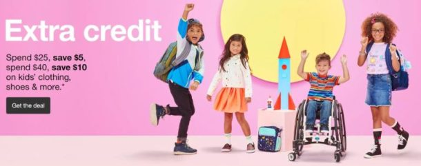 232240712 Save Up To $10 On Your Kids' Clothing, Shoes Or Accessories Purchase At  Target