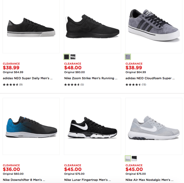 fb279897 Men's Adidas & Nike Shoes on Clearance at Kohl's - My DFW Mommy