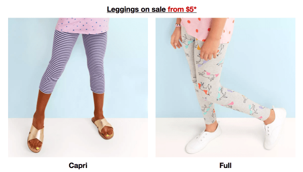 38d994b3ce731 Through August 30th, head over to Target where they are offering 20% off  select girl's leggings both in-store and online!