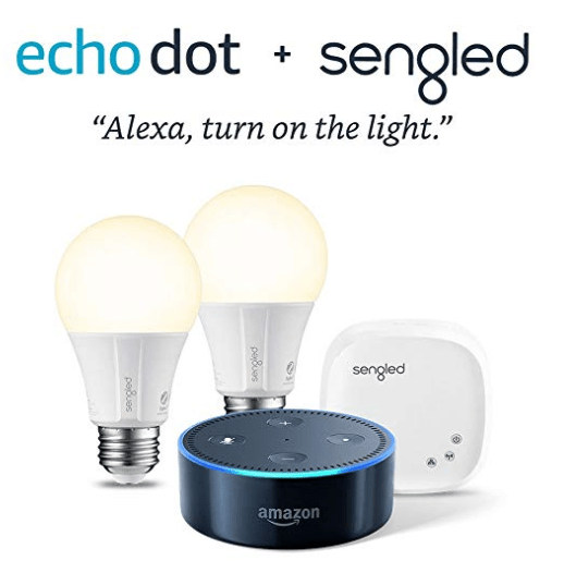 amazon echo dot smart bulb light kit only shipped reg 90 my dallas mommy. Black Bedroom Furniture Sets. Home Design Ideas