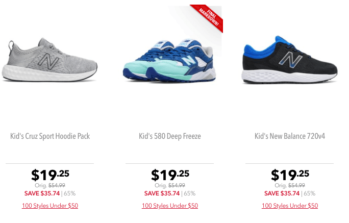Cupon Walmart New Balance Shoes