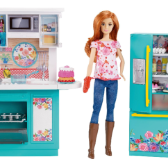 Barbie Kitchen Playset Cost To Have Cabinets Painted Pre Order Pioneer Woman Just 44 88 Shipped
