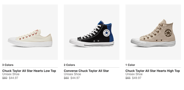 Extra 25% Off Select Converse Shoes + FREE Shipping My DFW