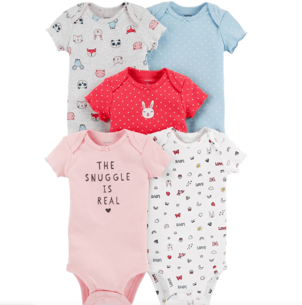 1735668f19c22 Kohl's Cardholders can grab this deal while it lasts: Carter's Baby 5-pack  ...