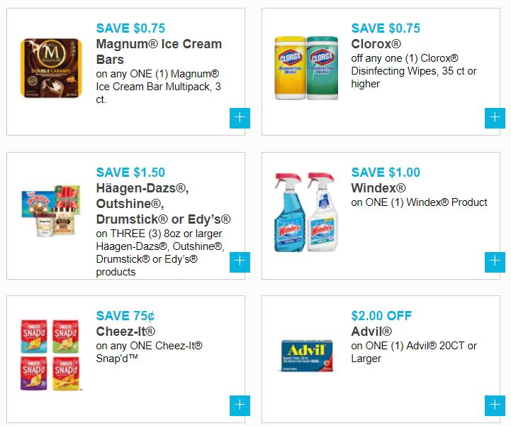 photograph relating to Haagen Dazs Printable Coupon called Fresh June Printable Discount coupons ~ Huggies, Kelloggs, Clorox