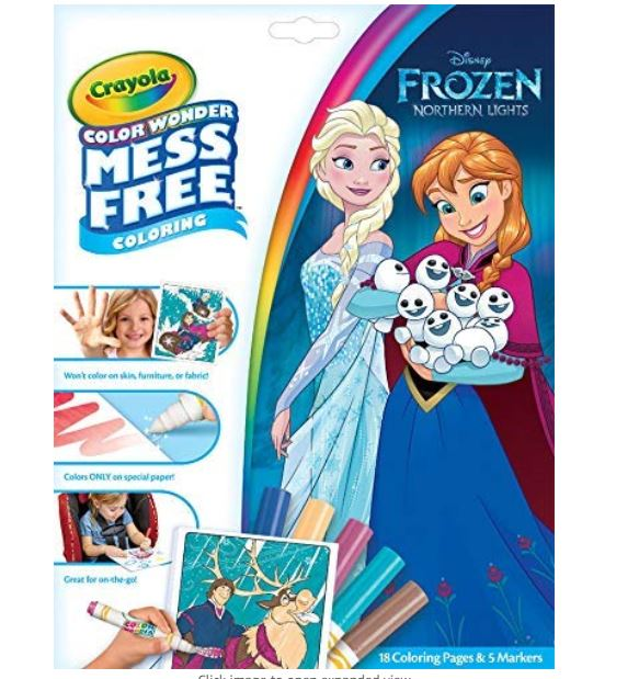 - Crayola Color Wonder Frozen Coloring Book And Markers $4.97 - My DFW Mommy